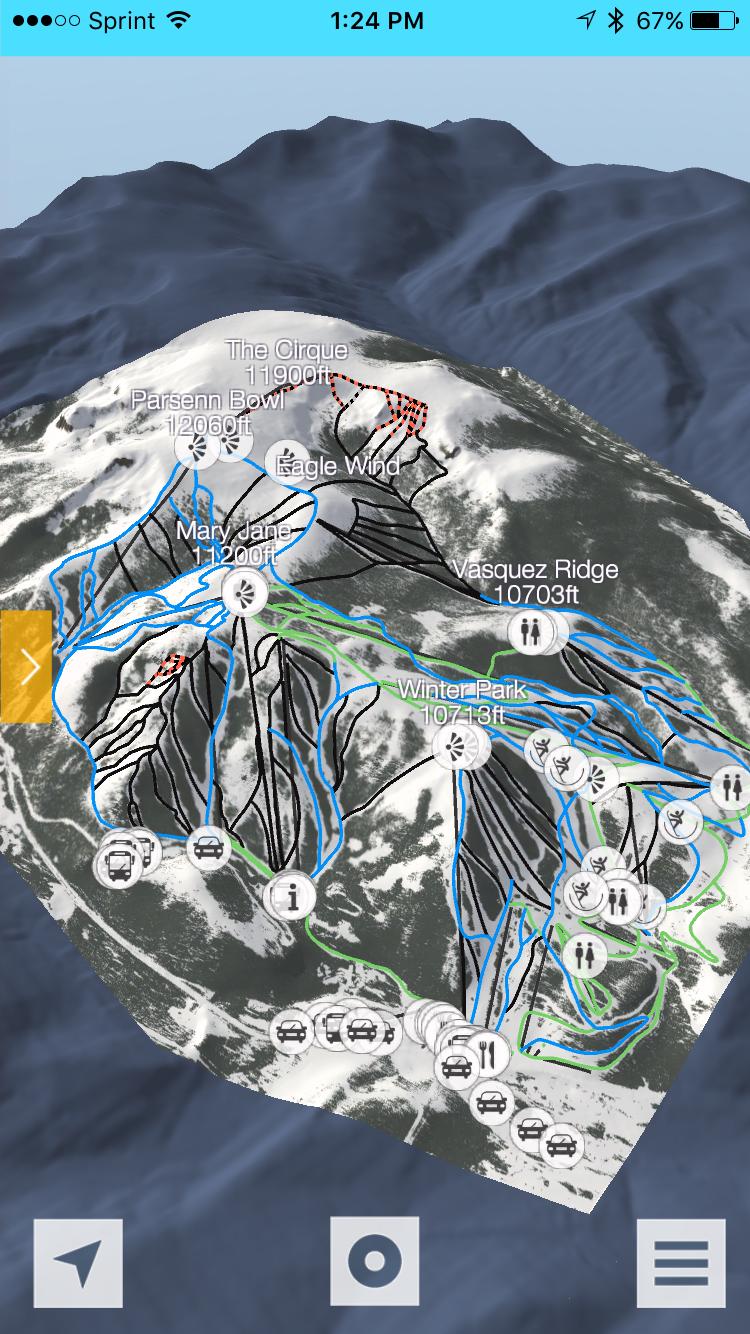 Fatmap Ski