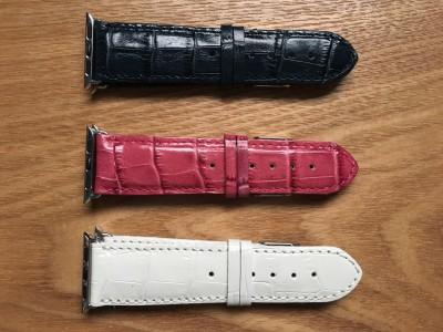 BuonGustoItaliano creates beautiful Italian leather Apple Watch bands