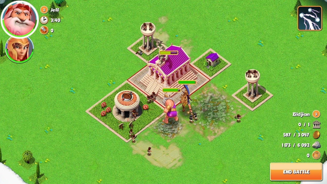 Gods of olympus game