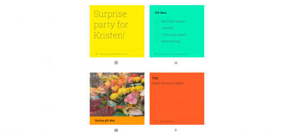 Google Keep note-taking app updated with support for Spotlight and 3D Touch