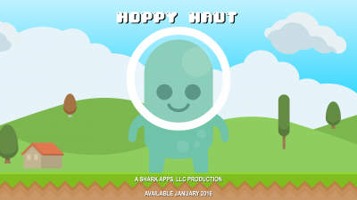 Leap and bound over terrain and critters in Hoppy Naut