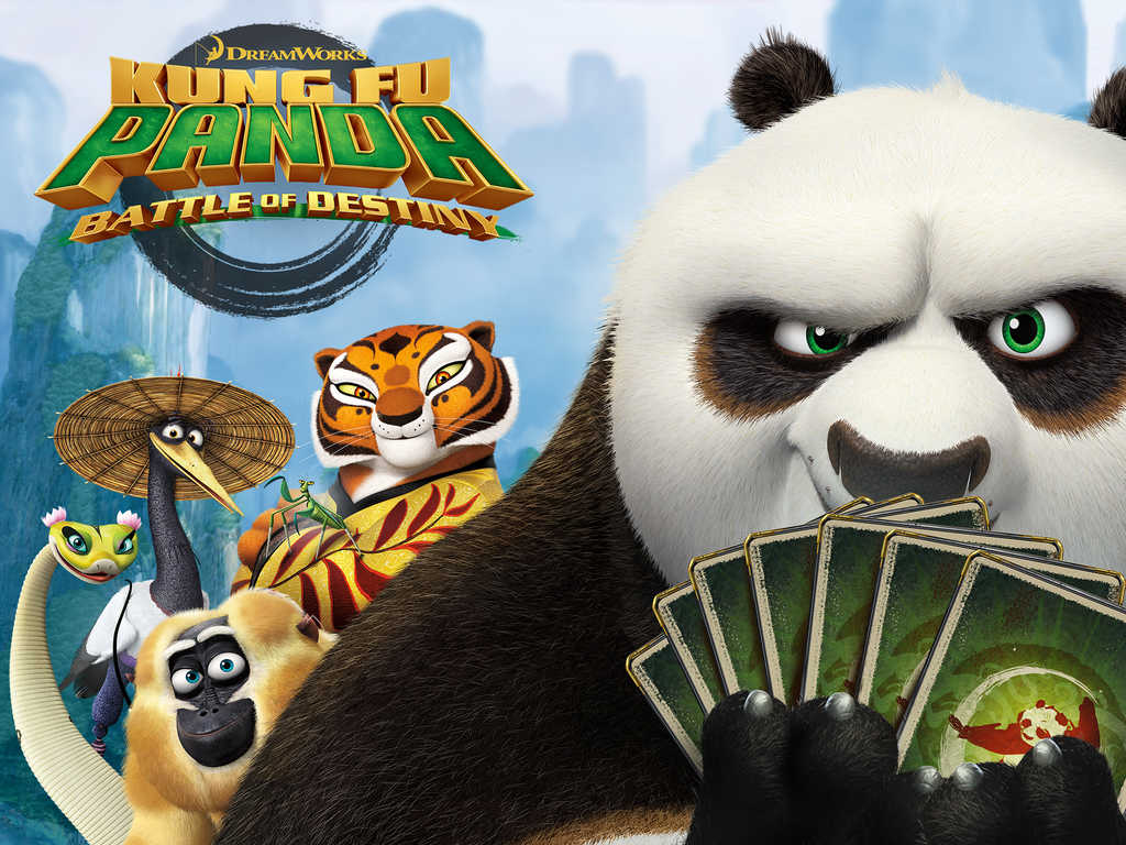 Fight for 'card fu' supremacy in Kung Fu Panda: Battle of Destiny