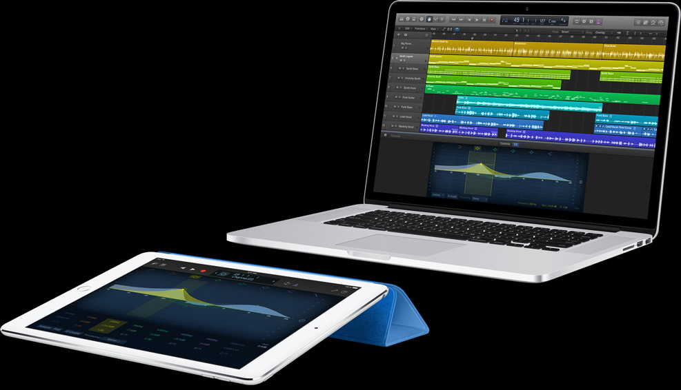 All about music: Apple updates Logic Pro X, Logic Remote and MainStage 3
