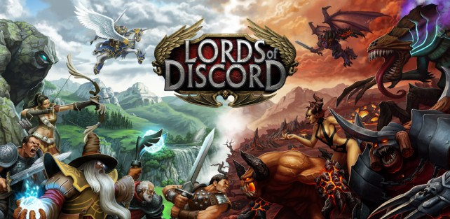 Conquer a unique 3-D fantasy world in Lords of Discord
