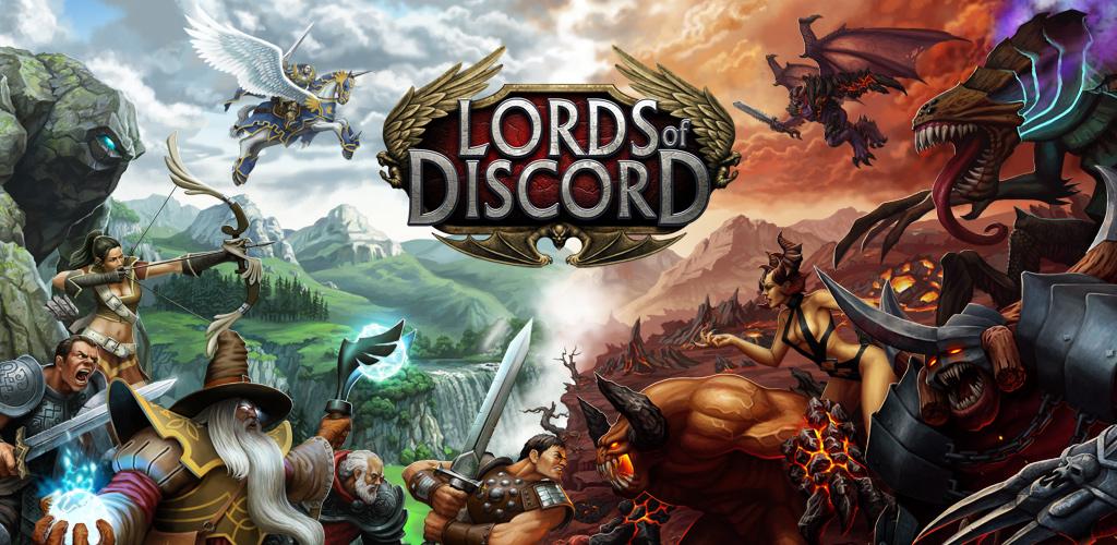 Conquer a unique 3-D fantasy world in Lords of Discord