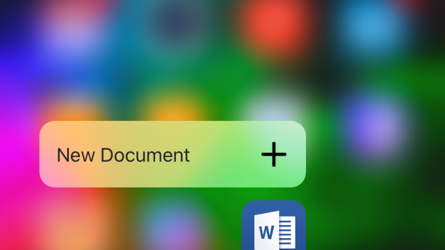 Microsoft Office now has 3D Touch and annotations with ink
