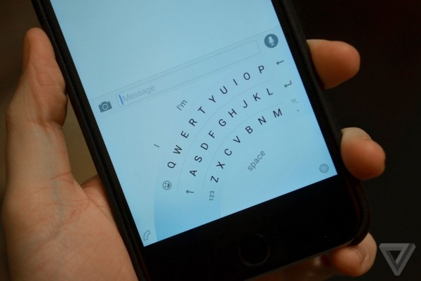 Microsoft's Word Flow keyboard for iOS will feature a special one-handed mode