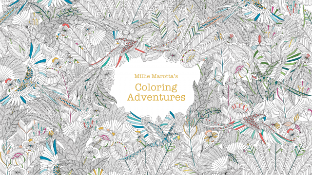 Experience Millie Marotta's Coloring Adventures for iPad