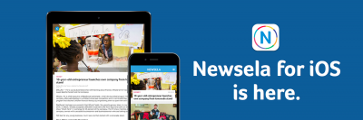 Newsela helps students improve their literacy by reading the news