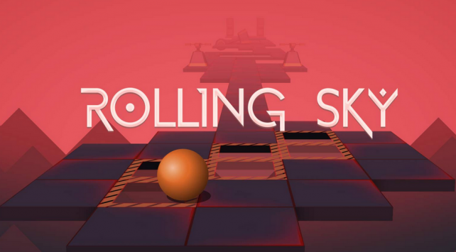 The fast-paced Rolling Sky brings a challenge like no other