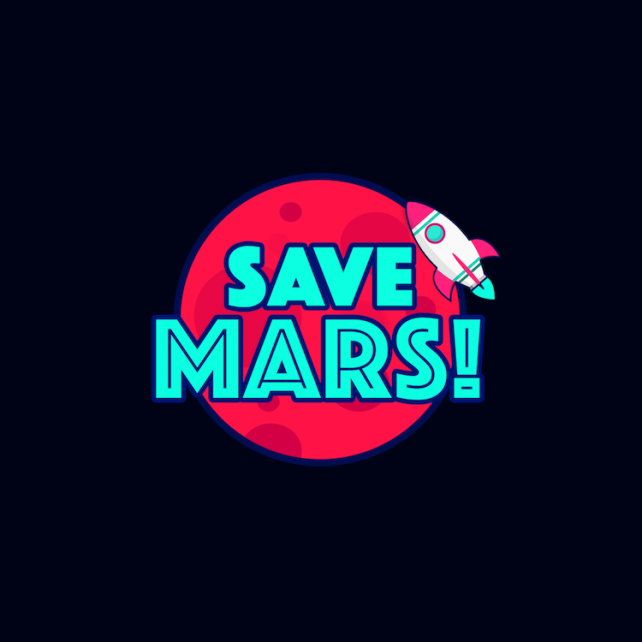 It's up to you alone to Save Mars!