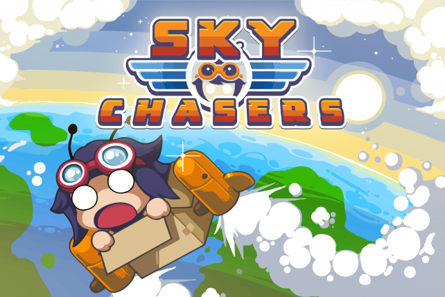 Explore a mystical world from a cardboard box in Sky Chasers