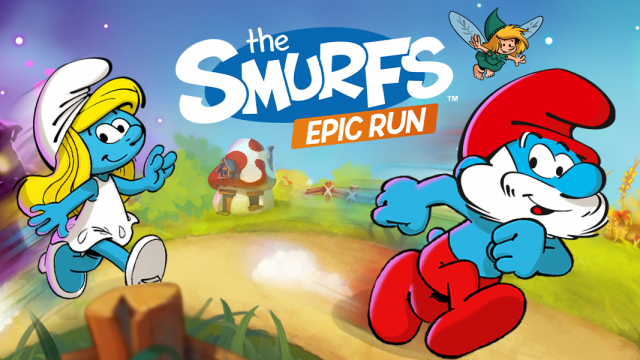 Free the Smurfs from evil in the adventure Smurfs Epic Run