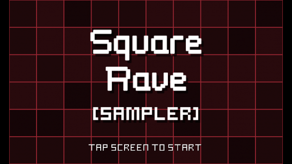 Move fast, beat the music and score in Square Rave Sampler
