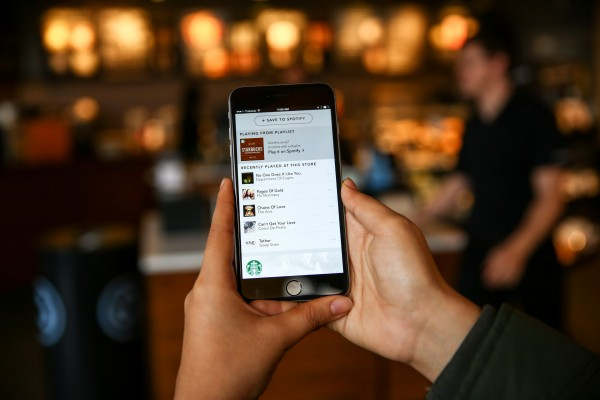 Discover music and enjoy your mocha with Starbucks and Spotify
