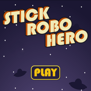 The line is the limit in Stick Robo Hero, a new robot roller