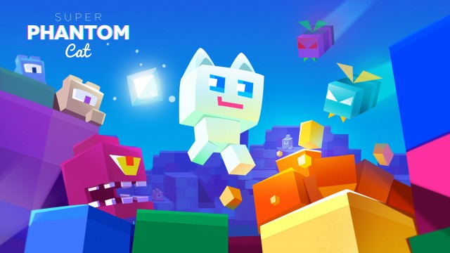 Super Phantom Cat is a retro-style puzzle platformer coming soon to iOS