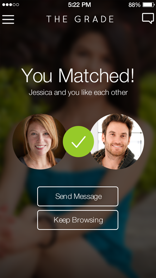 The Grade Dating App