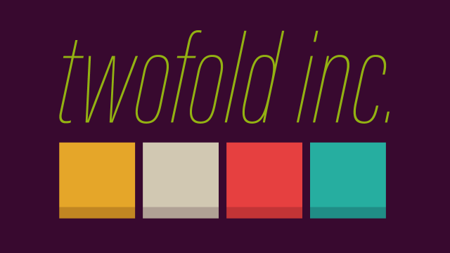 Twofold Inc., a fascinating new puzzler is on the way