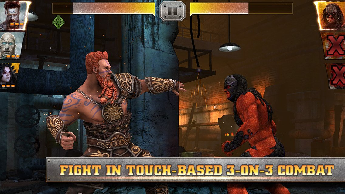 WWE Immortals combat