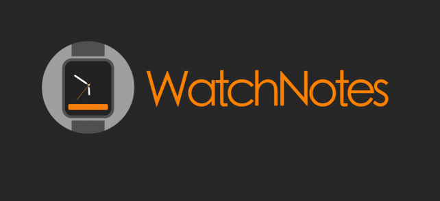 WatchNotes for Apple Watch gives you a face that says it all
