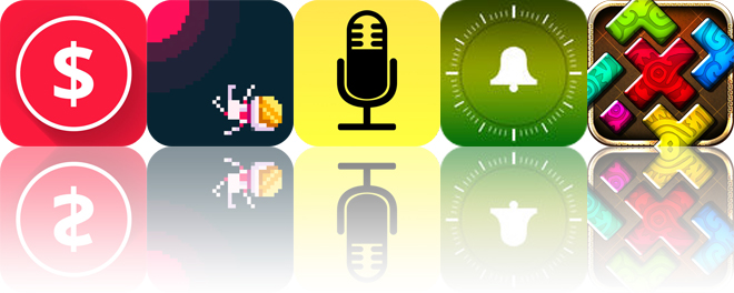Today's apps gone free: MoneyCoach, Sunburn, Audio Notebook and more