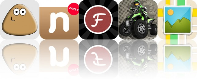 Today's apps gone free: Pou, Note'd, Fontpress and more