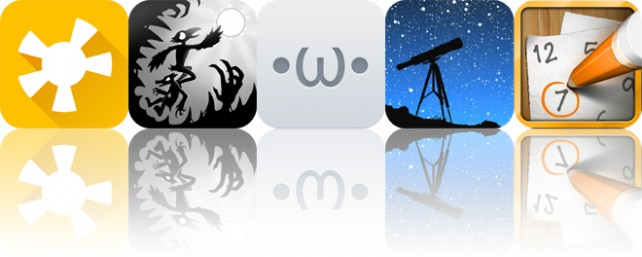 Today's apps gone free: MusiClock, Crowman and Wolfboy, Kaomoji and more