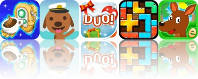 Today's apps gone free: Super Barista, Sago Mini Boats, DUO and more