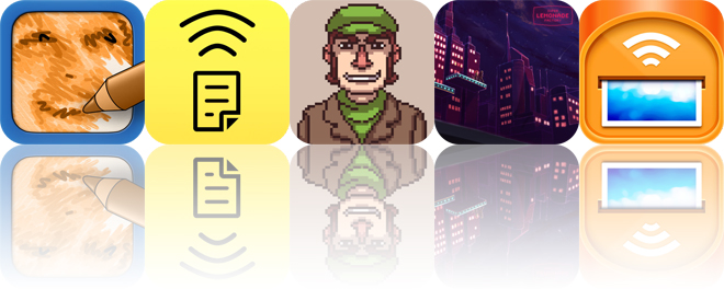 Today's apps gone free: SketchMee, Air Scanner, Super Lemonade Factory and more