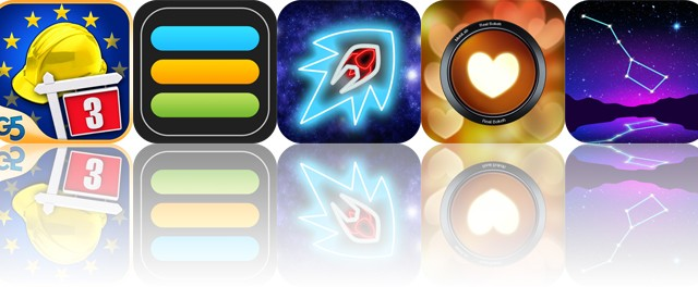 Today's apps gone free: Build-a-lot 3, iAchievement, Hyperlight and more