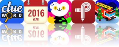Today's apps gone free: Clue Word, Parker Planner, Bubl Draw and more