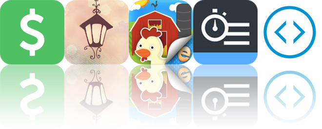 Today's apps gone free: Unspent, Lumie, Farm Story Maker and more