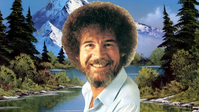 Adobe brings back Bob Ross in 'The Joy of Sketching'