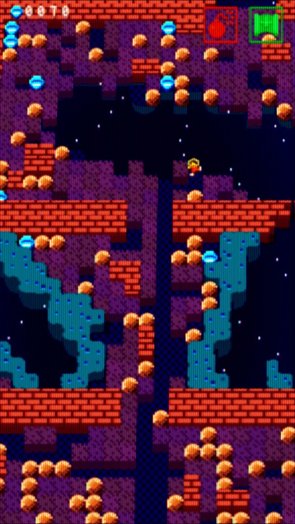 Can you find your way out of the asteroid maze in Captain Cowboy?