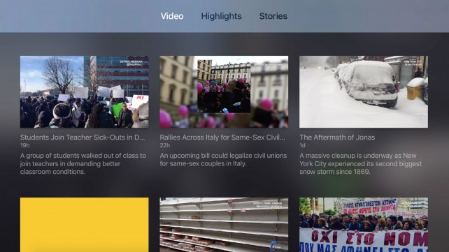 Fresco's citizen journalism app is a great addition to the Apple TV