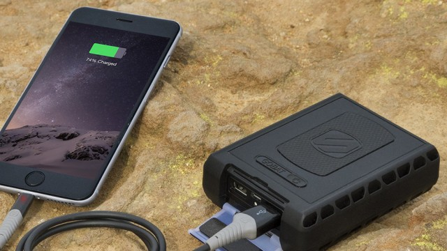 Scosche's new goBAT 12000 can keep your iPhone or iPad charged virtually anywhere