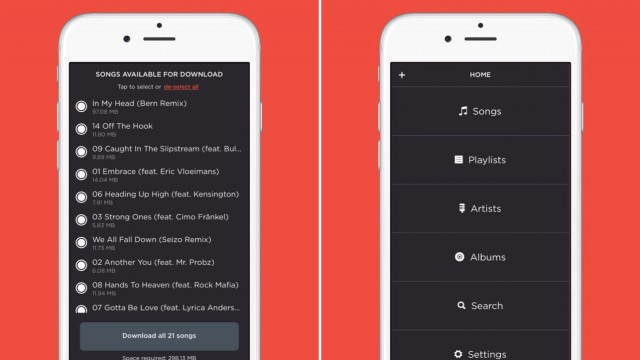 Jukebox is an ad-free offline music player for Dropbox