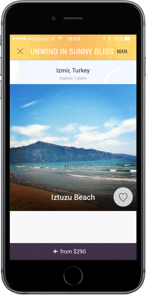 Tripnary for iPhone.