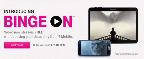 T-Mobile's Binge On has been throttling everything, according to EFF