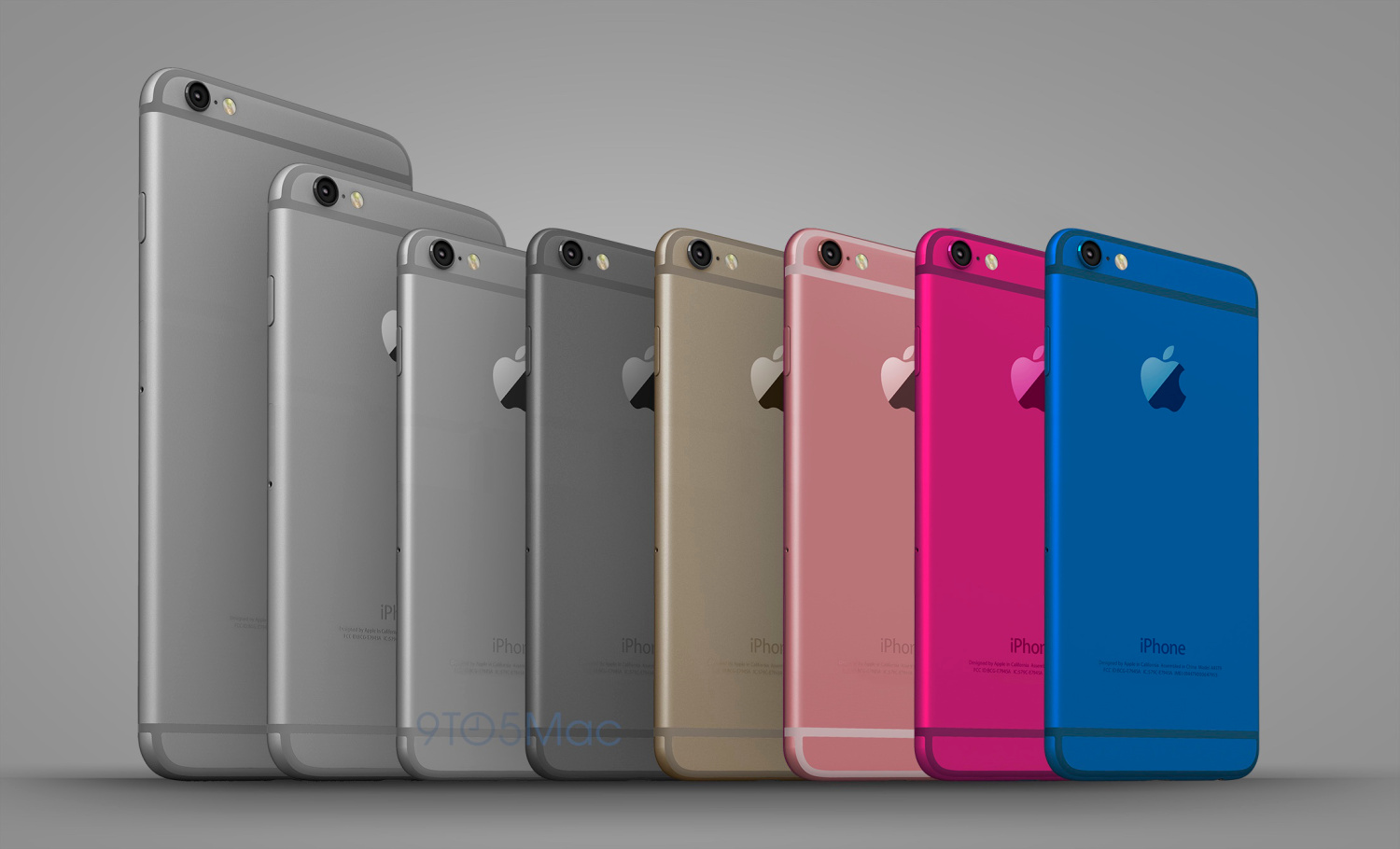 Like the iPod touch, 'iPhone 6c' could be a colorful affair