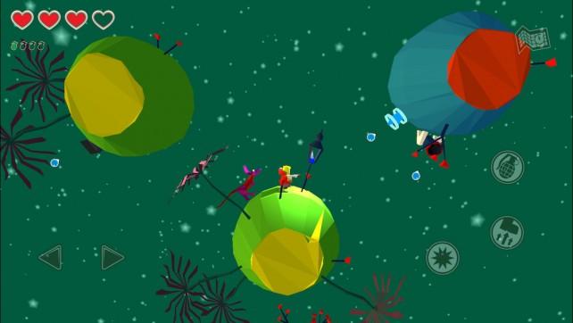 Explore the galaxy and save the sun in Momoka: An Interplanetary Adventure