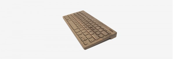 The Oree Board 2 keyboard is made from a single piece of premium wood