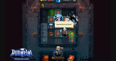 Tap, explore, and fight your way through Dungelot: Shattered Lands