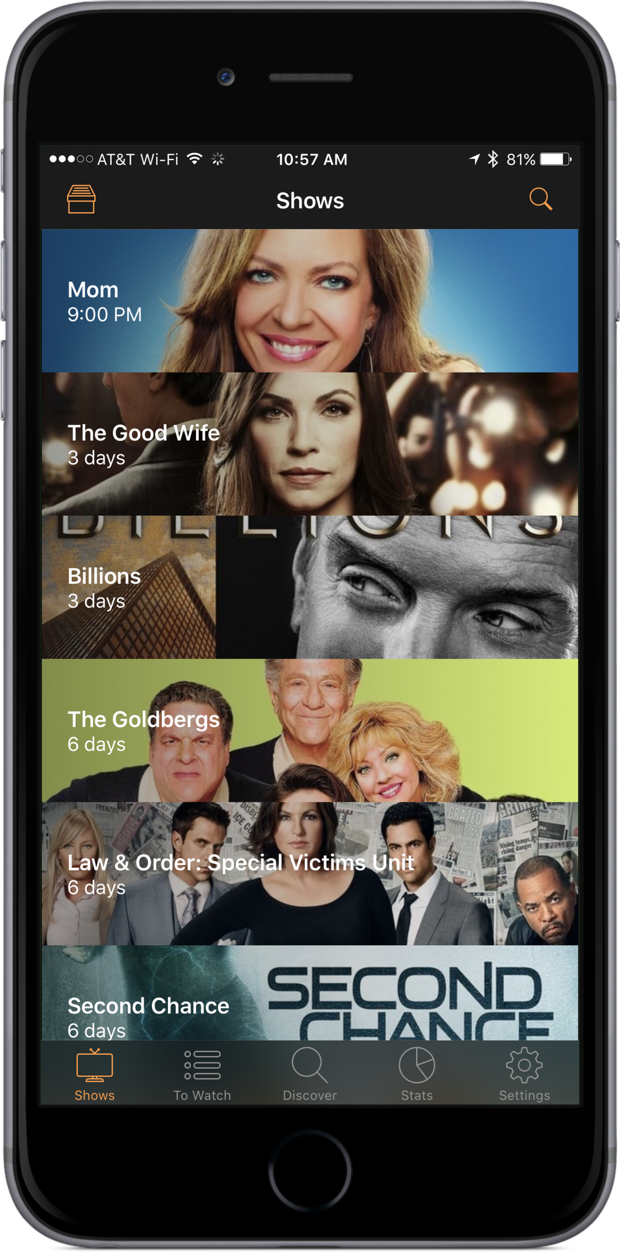 Never miss your favorite shows with Television Time 1.1