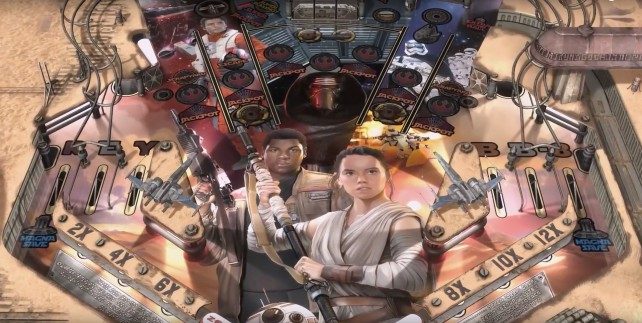 New 'Star Wars: The Force Awakens' tables will arrive on Zen Pinball this week