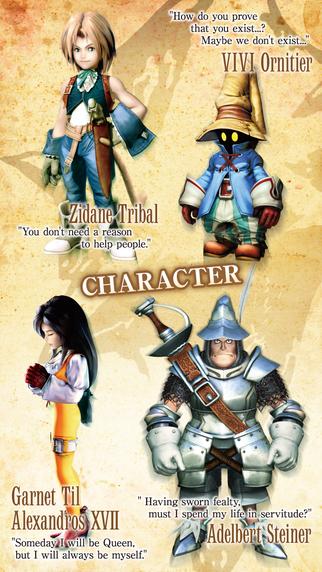Final Fantasy IX for iOS.