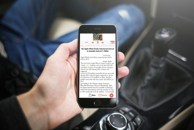 Let RedLoud read the news to you while you work or drive