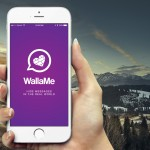 Hide fun messages for your friends to discover with WallaMe