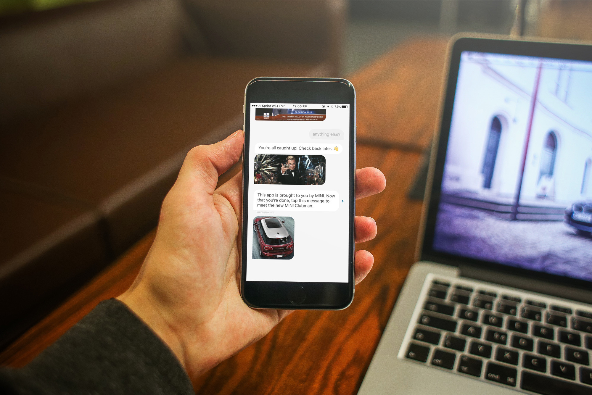 Read the news like you're reading text messages with Quartz